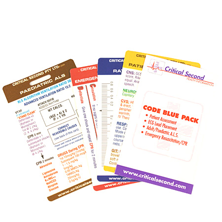 Critical Second® Code Blue Card Pack-0