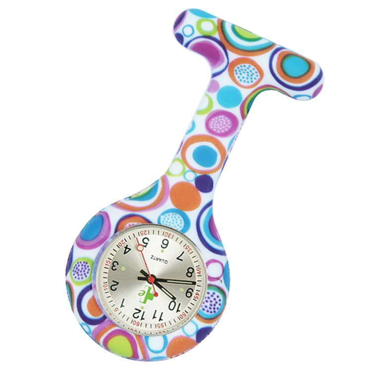 Silicone FOB Watch - Patterns-2329
